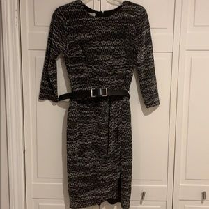 London Times Dress with Belt